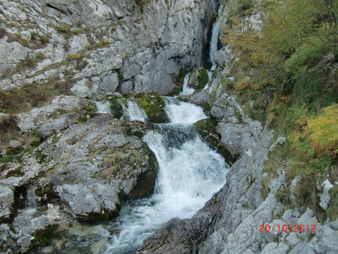 Soca Quelle, Julische Alpen, Trenta, Vrsic, Isonzo Ursprung