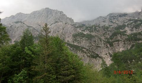Hohe Ponza, Julische Alpen, Rifugio Zacci Hütte, Fusine