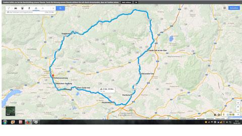 Wimitz, Radtour, Mittelkärnten, Kraig