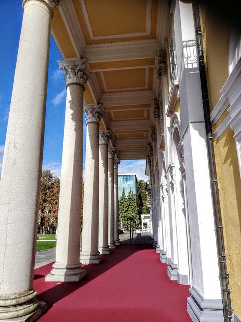Rogaška Slatina, Rohitsch Sauerbrunn, Slowenien, Portikus