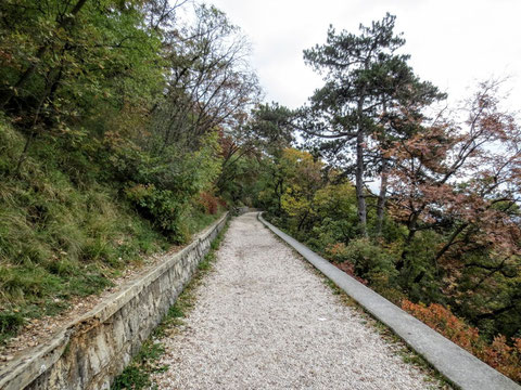 Strada Napoleonica, Vicentina, Triest, Meer