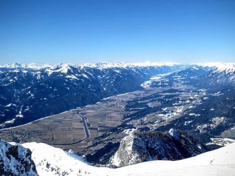 Dobratsch Villacher Alpe Skitour