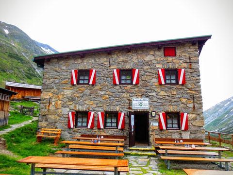 Die altehrwürdige Osnabrücker Hütte