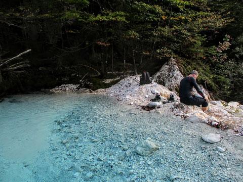 Fluss, Luknja, Triglav Nationalpark, Trenta, Julische Alpen, Zadnjica, wandern