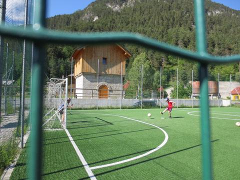Fussballplatz in Uggowitz