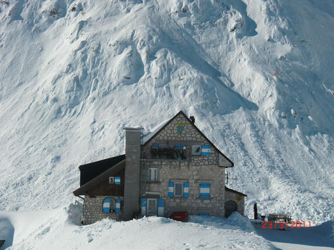Rifugio Gilberti, Canin, Julische Alpen