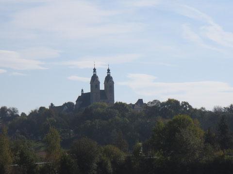 Der im 15. Jahrhundert im spätgotischen Stil errichtete Maria Saaler Dom