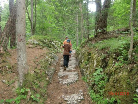 Römerweg Warmbad Villach, Alpe Adria Trail