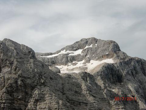 Die gewaltige Triglav Nordwand - eine der größten Wände der Alpen