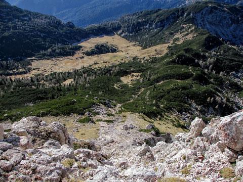 Karnische Alpen, Trogkofel, Alm