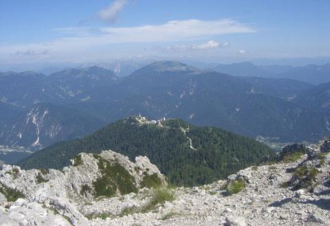 ulische Alpen, Mangart, Triglav, Montasch, Luschari, Dobratsch, Kugy