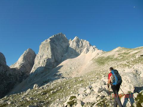 Das Matterhorn der Julischen Alpen - der Jalovec 2.645m