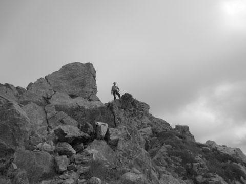 Am Gipfel des Zuc della Guardia 1.911m