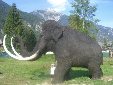 Die Welt der Dinosaurier, Mammut