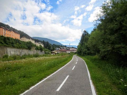 Tarvis, Kanaltal, Julische Alpen, Alpe Adria Radweg Ciclovia