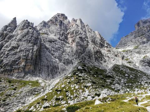 Villacher Turm, Kastreinspitzen, Mosesscharte und Wischberg