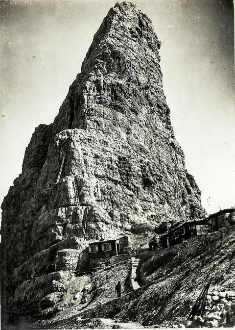 Toblinger Knoten, Leiternsteig, Dolomiten, Klettersteig