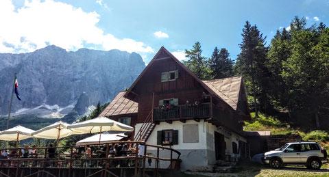 Julische Alpen, Grego Hütte, Rifugio