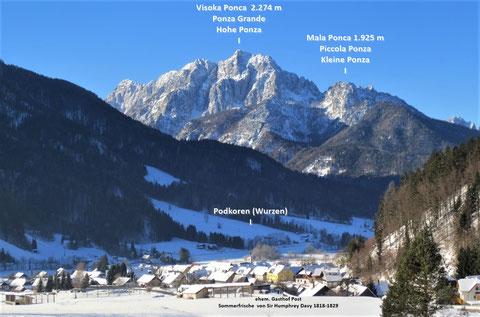 Hohe Ponza, Ponza Grande, Julische Alpen