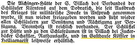 Mitteilungen des Deutschen und Österreichischen Alpenvereins 1918