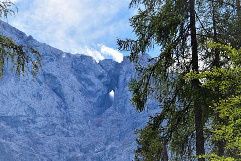 Prisank, Fenster, Okno, Julische Alpen, Vrsic