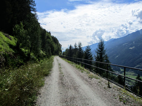 Mölltal, Mallnitz, Radweg, Tauernbahn