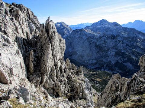 Karnische Alpen, Felsen,