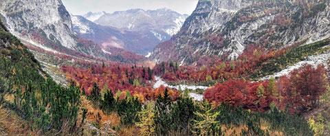 Julische Alpen, Herbst