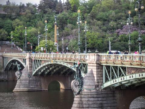 Čechův most, Prag