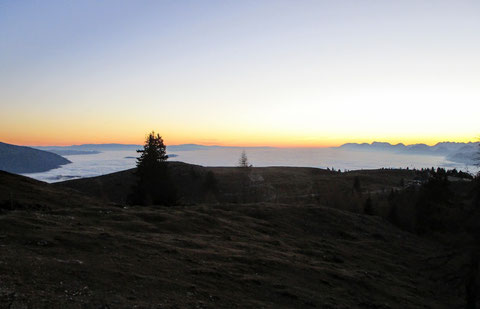 Dobratsch, Villacher Alpe, Sonnenaufgang, Julische Alpen
