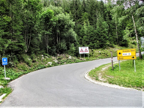Vršič-Pass-Straße
