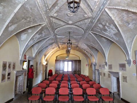 Im Inneren des Palazzo Veneziano