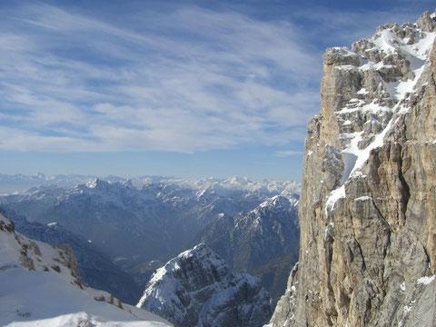 Forca dei Disteis, Montasch, Julische Alpen