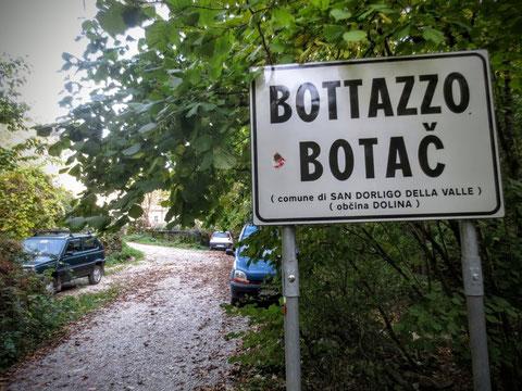 Adria Trail, Rosandratal, Radweg Giordano Cottur, Bahnstrecke, Triest