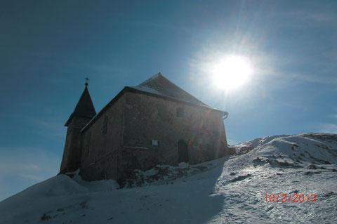 Skitour, Dobratsch, Villacher Alpe, Gipfel, Schneeschuh, Winter,
