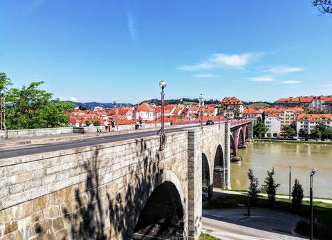 Stari Most, Drau, Brücke