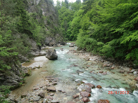 Schlitzaschlucht, Tarvis, Julische Alpen