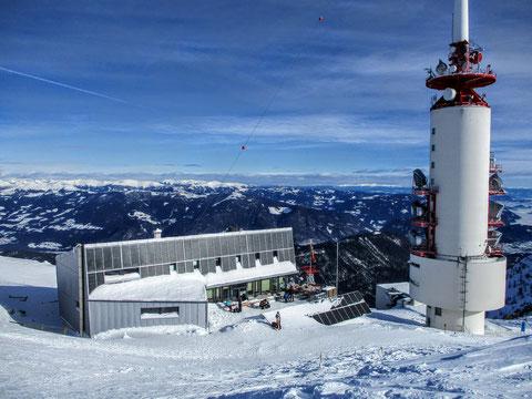 Dobratsch, Villacher Alpe, Julische Alpen, Schnee, Winter