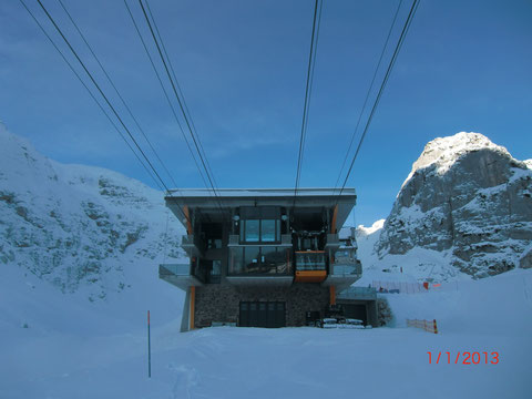 Sella Nevea - Kanin 01.01.2013