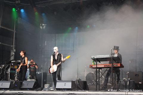 Beim Batlord-Gig feierte meine Hammond XK3c ihre Bühnenpremiere