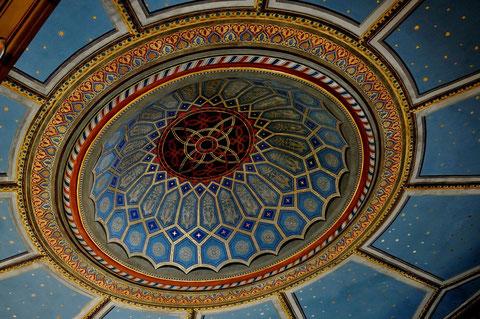 Kuppel der Synagoge Hechingen. Foto: Manuel Werner, alle Rechte vorbehalten!