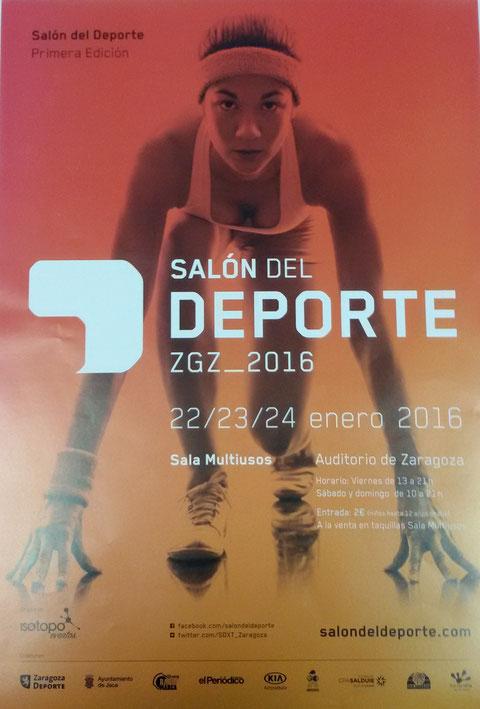 Participación del Club de Tiro Zaragoza en el Salón del Deporte los días 22,23 y 24 de Enero en la Sala Multiusos.