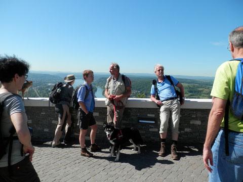 7 auf 1 Streich: der letzte Berg (Petersberg) ist geschafft