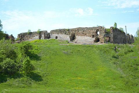 Південна та західна стіна замкую