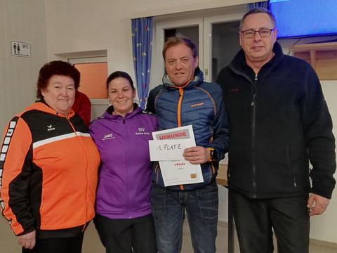 1.Platz:Lisi,Anna,Didi und Karlheinz.