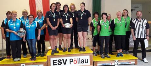 3.Platz UL-26.Mai 2019 in Pöllau Sabine A.Burgi,Heidi,Karin und Sabine K.