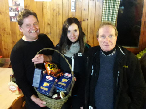 4.Platz Josef Siak,Betty Karner u.Heli Leopold.