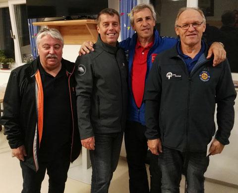 1.Platz,Hubert,Horst,Günter und Erich