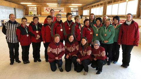 3.Platz.12-01-20 UL-Damen in Wenigzell mit Burgi,Heidi,Karin,Sabine A.und Sabine K.