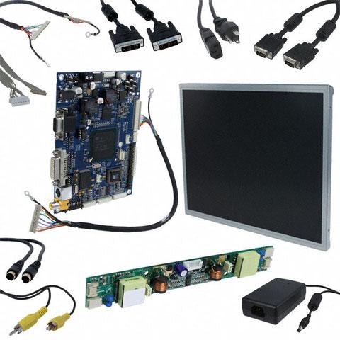 El interior del LCD